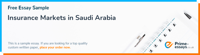 Insurance Markets in Saudi Arabia