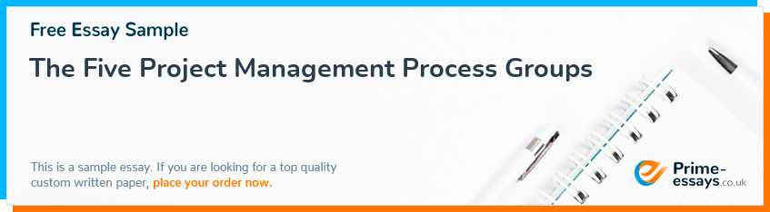 The Five Project Management Process Groups
